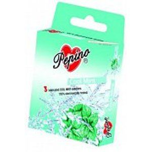 Pepino Cool Mint – kondomy chladivé 3 ks